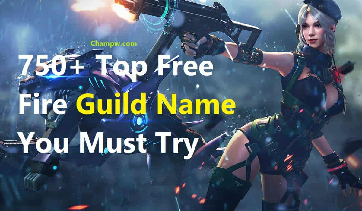750+ Top Free Fire Guild Name You Must Try