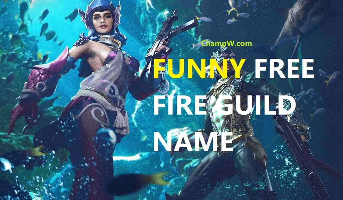 FUNNY FREE FIRE GUILD NAME HIND