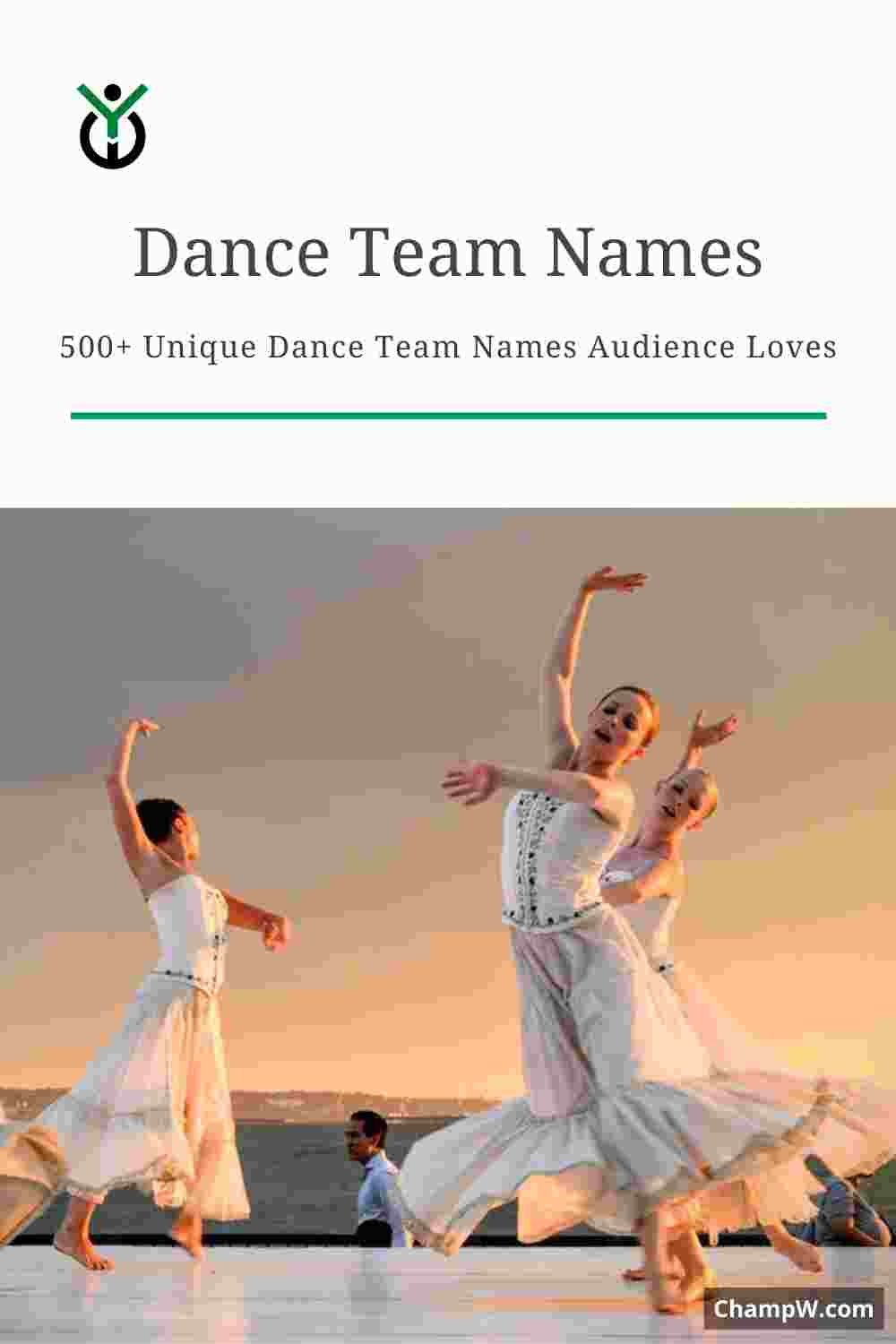 500+ Unique Dance Team Names Ideas Audience Loves