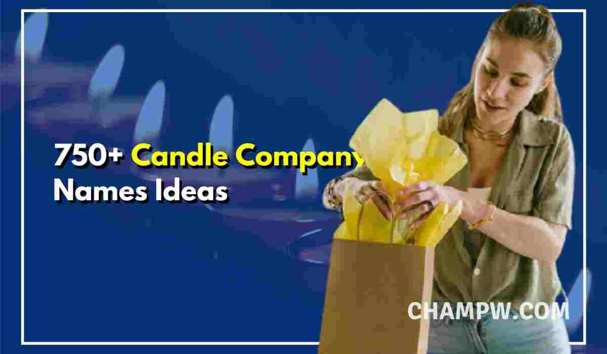 Candle Company Names