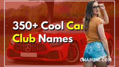 350+ Cool Car Club Names | Famous, Lowrider, Awesome