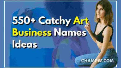 Art Business Names